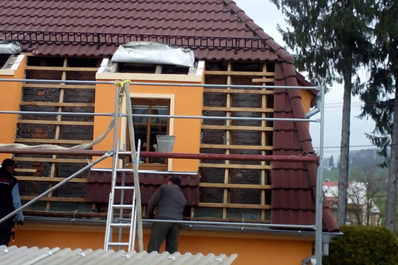 tepelná izolace střechy