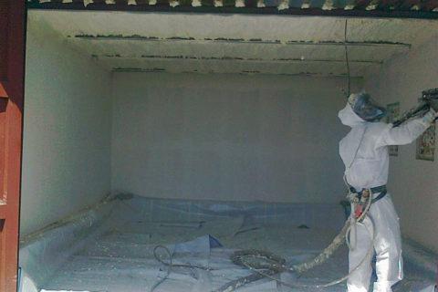 Tepelná izolace garáže