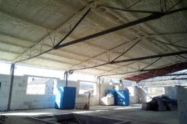 Průmyslová izolace – skladové prostory