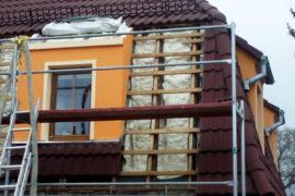 Tepelná izolace střechy – výměna izolace