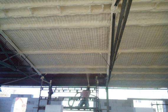 Tepelná izolace a hydroizolace skladových prostor