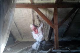 Zateplení podkroví bez přípravy konstrukce