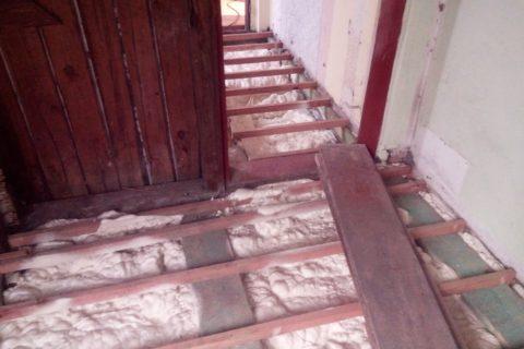 Podlaha v rodinném domě