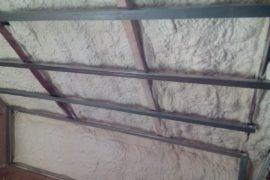 Izolace stěn se záklopem