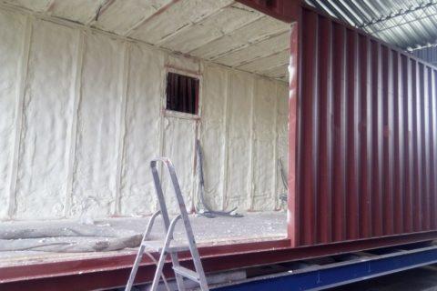 Izolace kontejneru