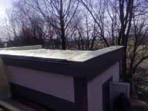 izolace ploché střechy, PUR pěna, izolace pěnou, stříkaná izolace, chytrá izolace, pěnová izolace