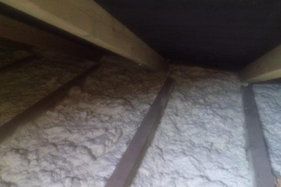 tepelná izolace podlahy, stříkaná izolace, chytrá izolace, PUR pěna
