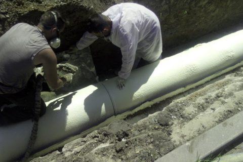 Průmyslová izolace potrubí
