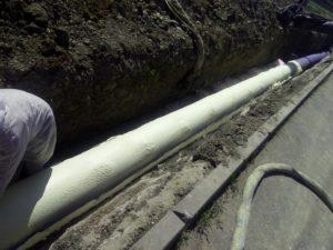 průmyslová izolace, zateplení potrubí, stříkaná izolace, teplá pěna, PUR pěna