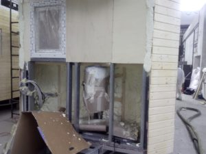 pěnová izolace mobilního domu, tepelná izolace, zateplení stěn, stříkaná izolace