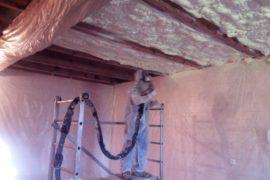 Zateplení stropu – rekonstrukce