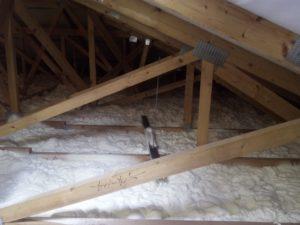 izolace podlahy, PUR pěna, izolace pěnou
