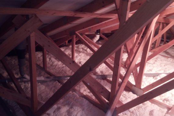 zateplení podlahy, stříkaná izolace PUR pěna